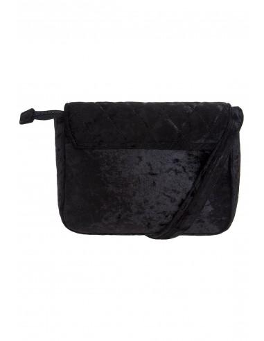 Bolso en cuero negro 211