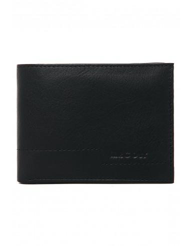 Billetera Hombre 307 Cuero Negro